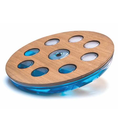 een complete work out met dit prachtige (water)balansbord van nohrd!eau me balansbord essen