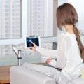 Met een tablet arm van ErgoLine kijkt u altijd op het juiste niveau